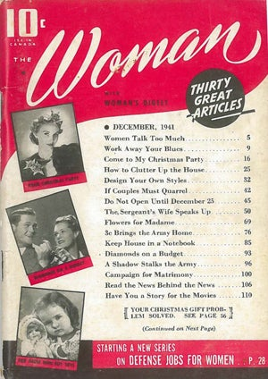 Lead Story From 1941 Woman Magazine: 'Women Talk Too Much' :/