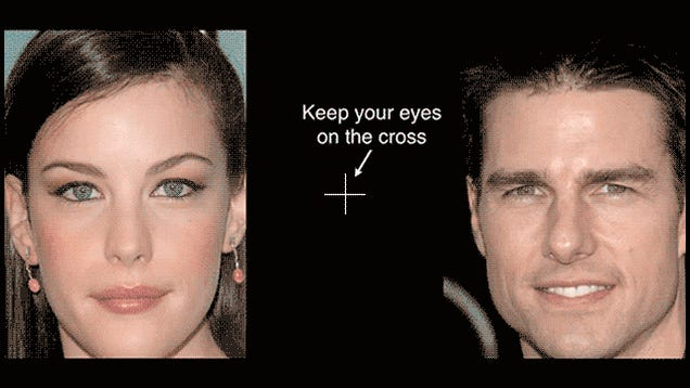 Optical Illusion Turns Pretty Hollywood Actors Into Freaky Monsters