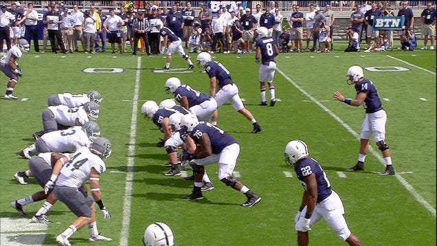 Penn State Freshman QB Has Bad Start, Bounces Right Back