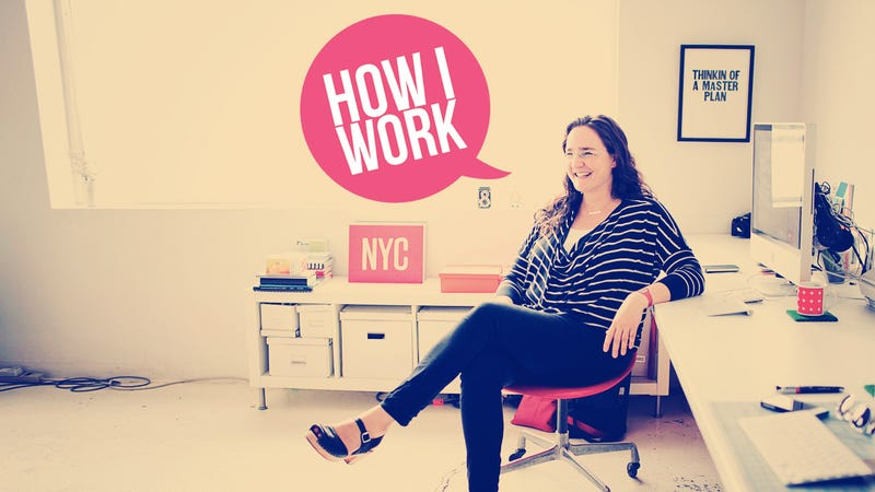 I'm Tina Roth Eisenberg, Founder of Swissmiss, and This Is How I Work