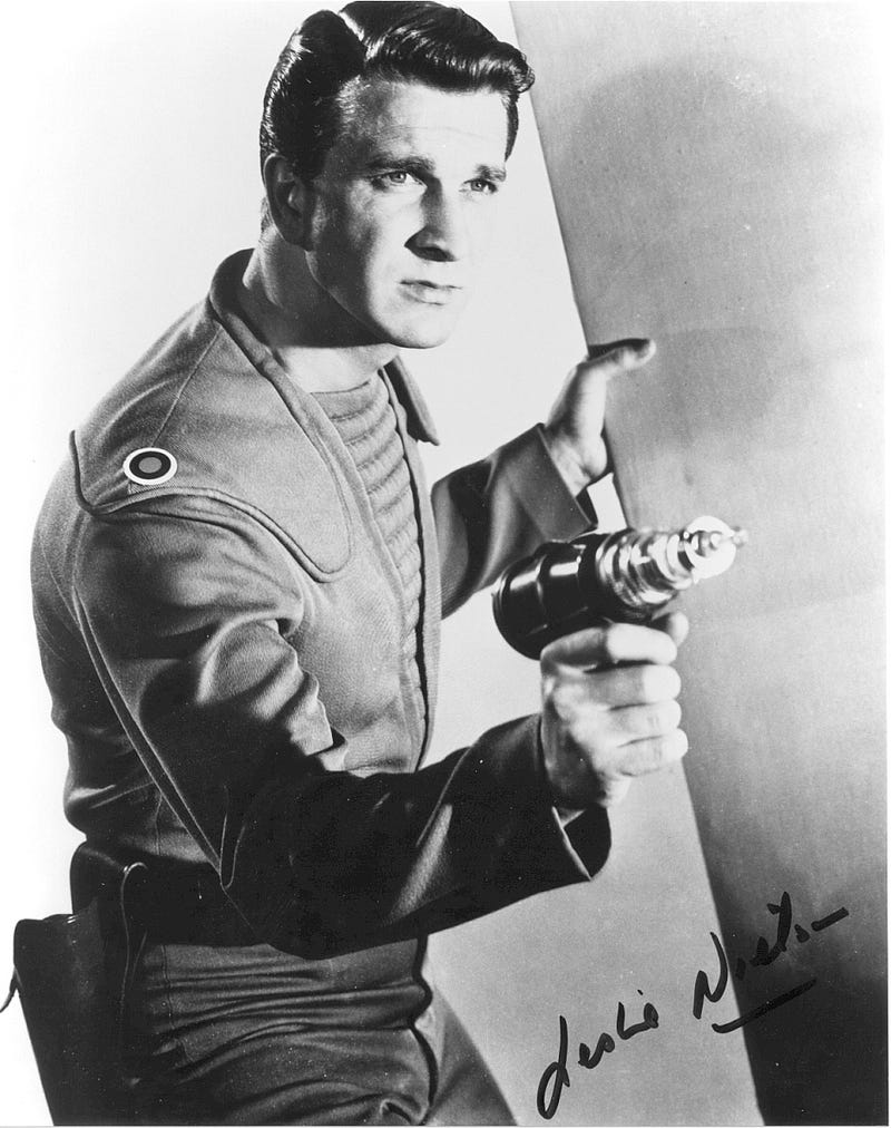 R.I.P. Leslie Nielsen, star of Forbidden Planet and numerous science fiction spoofs