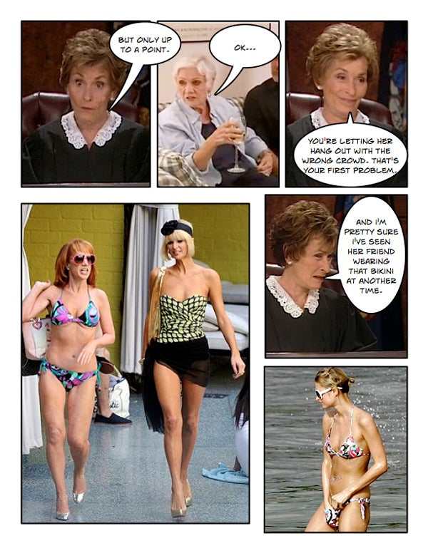 Comic Confrontations: Judge Judy Vs. Kathy Griffin