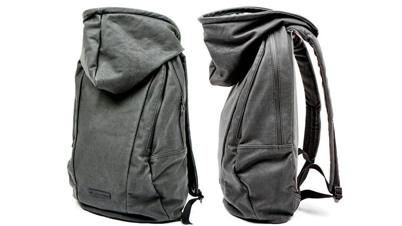 You'll Always Have an Emergency Hood While Wearing This Backpack