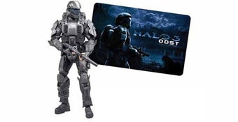 Gift Card, Free Action Figure with ODST