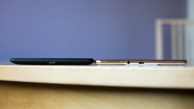 Samsung Galaxy Tab S Review: Good Lord, That Display