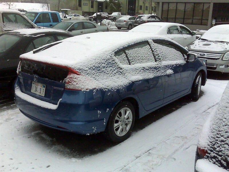 2010 Honda Insight Spotted On Utah Ski Vacation