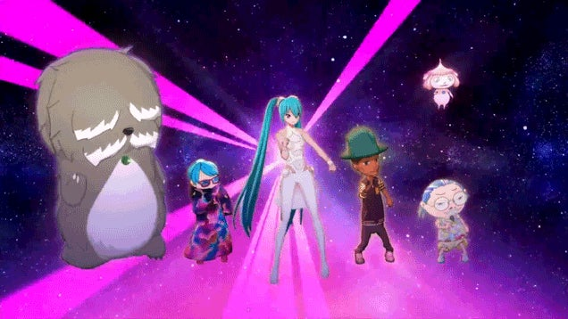 ​Pharrell And Hatsune Miku, Together At Last