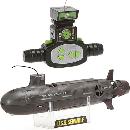 Remote Controlled USS Seawolf Brings Cold War Fun to Your Hot Bath