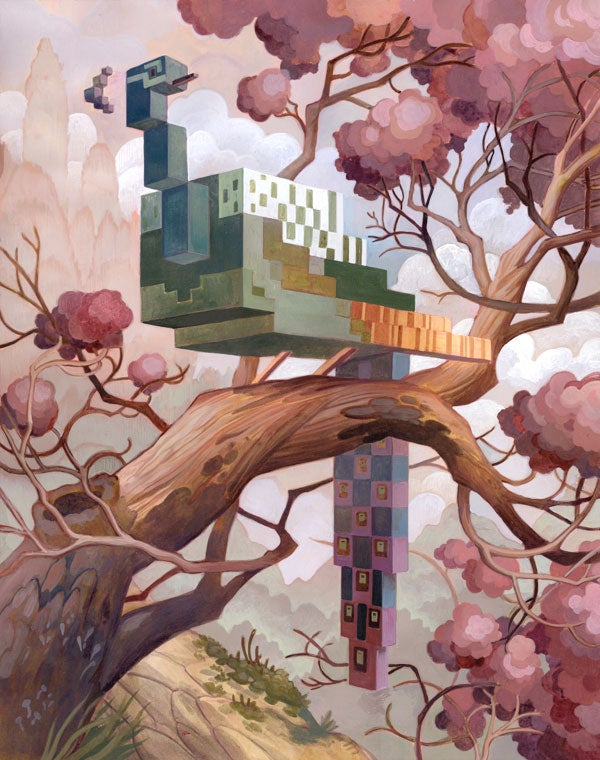 Enjoy The Serenity of Pixelated Nature with Laura Bifano's 8-Bit Animals