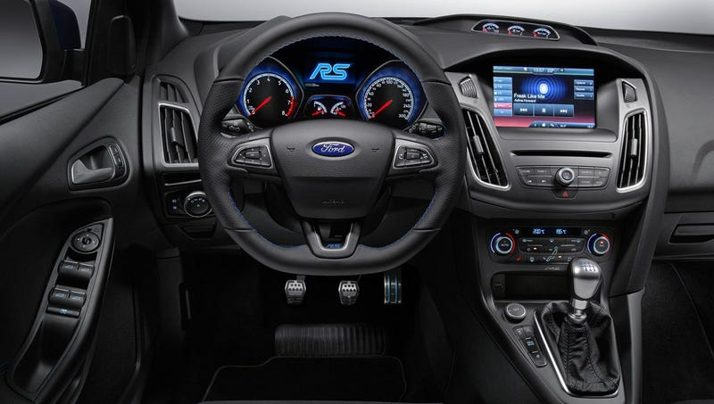 Here's How The 2016 Ford Focus RS's Stall Recovery Feature Works