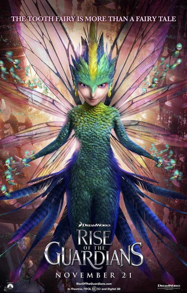 6 New Character Posters From Rise of the Guardians