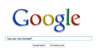 """Time Magazine Wonders If """"Google Can Solve Death"""""""