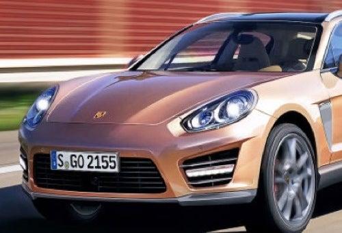 Porsche Cajun Sacrifices Two Doors To Corporate Cooperation