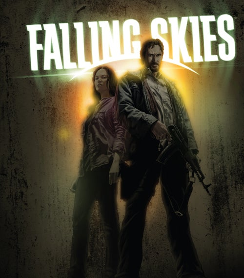 Check out exclusive teaser images from the Falling Skies comic book