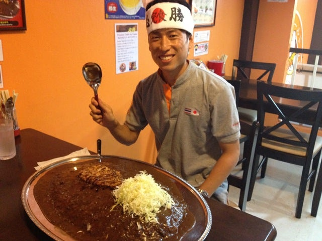 Eat This Curry Rice, Earn Almost $1,000