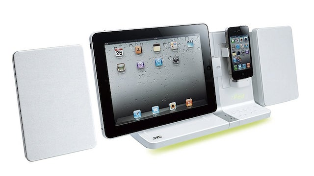 Double Team This Speaker Dock with Your iPad AND iPhone