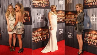 Gold, Glitz, and Blonde Dye at the American Country Countdown Awards
