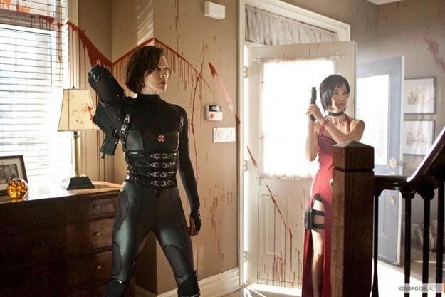 Resident Evil 5 pics!