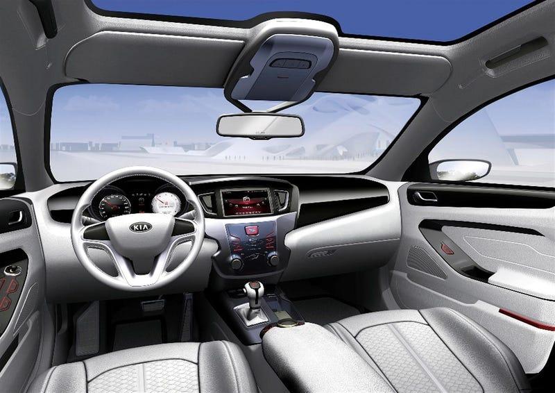 Kia VG Concept: Suprisingly Attractive Flagship Sedan