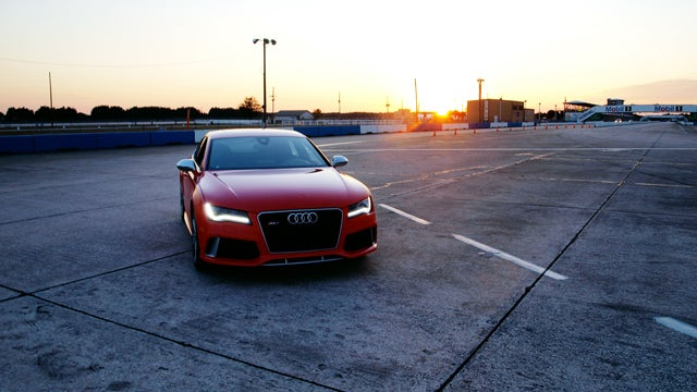 What Happens When You Have An Audi RS7 And Sebring Is Open