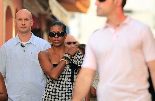 Michelle Takes A Break In Marbella