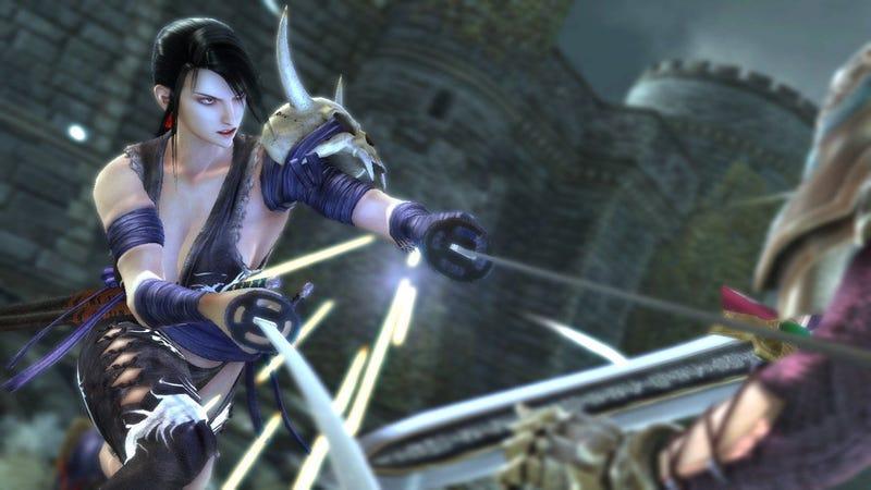 More Soul Calibur IV Screens, More... Well, T&A.