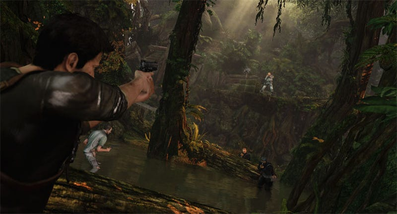 E3's Uncharted 2 Screens Have Us Back In The Jungle