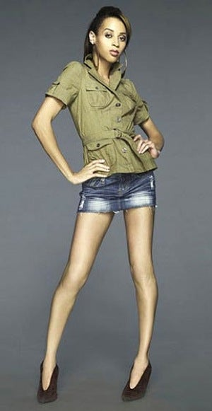 Top Model Blows Its Tranny Wad Too Soon