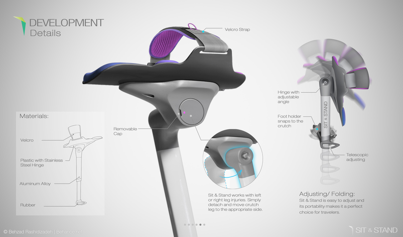 A Brilliant Device That Completely Reinvents Crutches