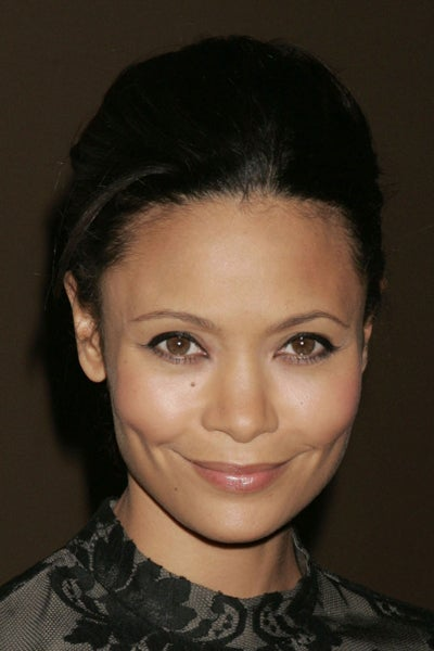 Thandie Newton's Sheer Sleeves & Short Shorts