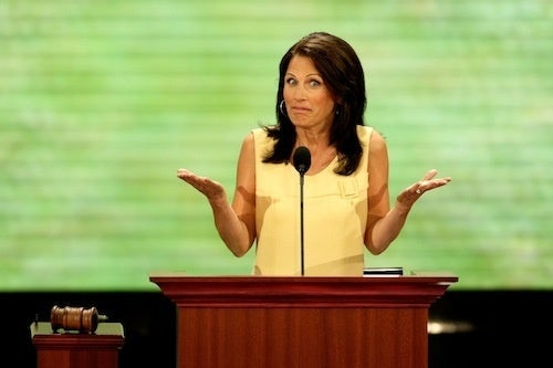Michelle Bachmann Is Anti-Socialism, Pro Government Farm Subsidies