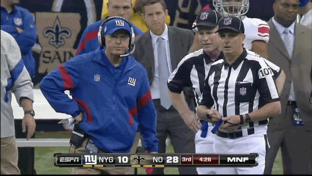 Who Has The Funnier Challenge-Flag-Throwing Motion, Tom Coughlin Or Mike Tomlin?