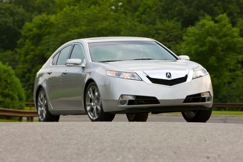 2009 Acura TL, Revealed: SH-AWD Is The New Type-S