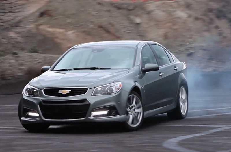 Video: Shredding a Set of Tires in the Chevrolet SS