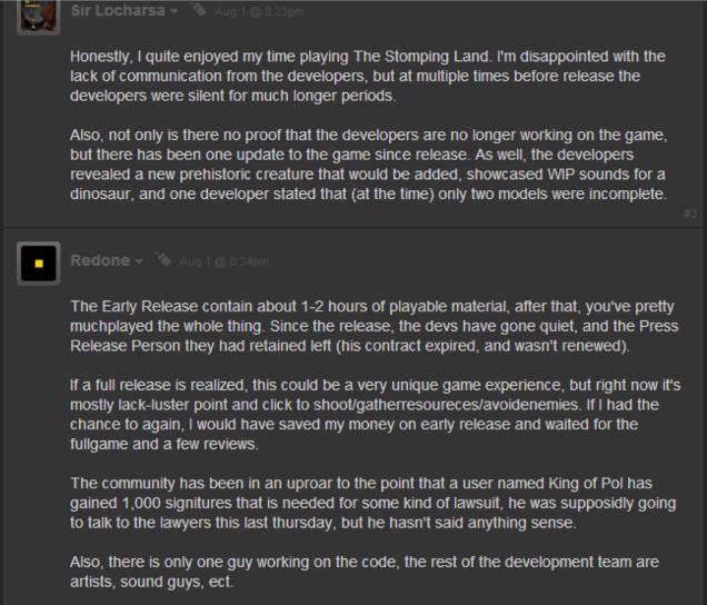 The Stomping Land Developer Says Game Isn't Dead