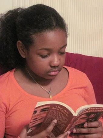 Does 10-Year-Old Bookworm Identify With Anne Frank?