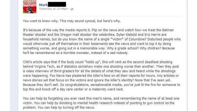 Morgan Freeman's Thoughts on the Sandy Hook Shooting Were Written by Some Canadian Guy Named Mark