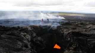 El arriesgado oficio de investigar volcanes