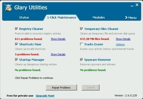 Glary Utilities Optimizes Your Windows PC