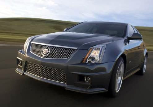 2009 cadillac cts v specs made official gets 556 hp. Black Bedroom Furniture Sets. Home Design Ideas