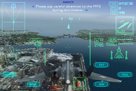 Ace Combat Xi Launches On iPhone
