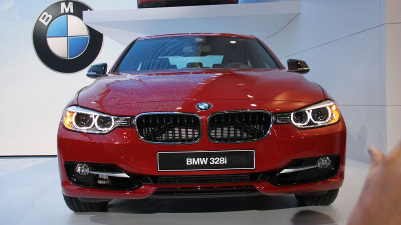 2012 BMW 3 Series: Detroit Auto Show Live Photos