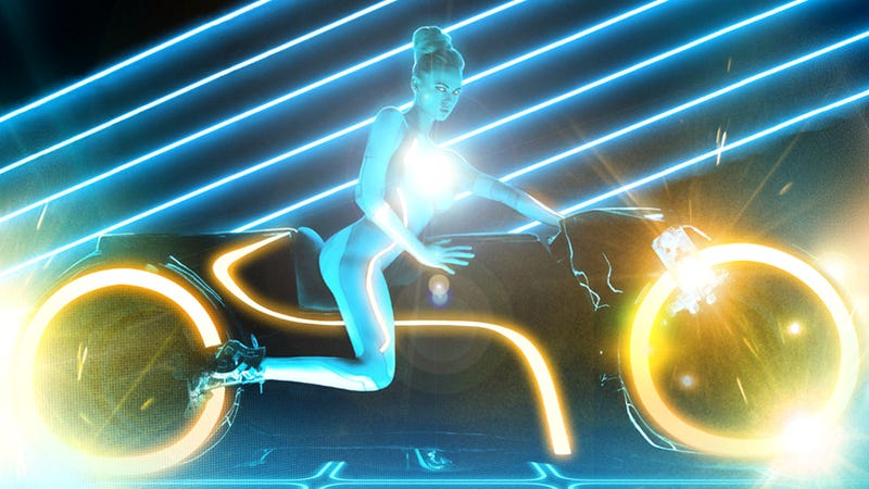 Disney Meets Playboy in a Naughty TRON Photoshoot