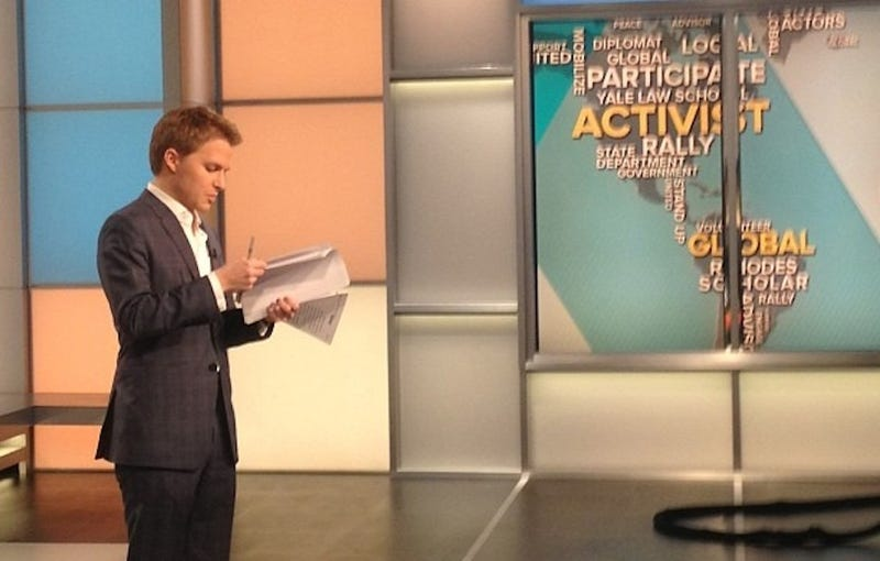 Ronan Farrow Is Pretty Great, According to Ronan Farrow's TV Show