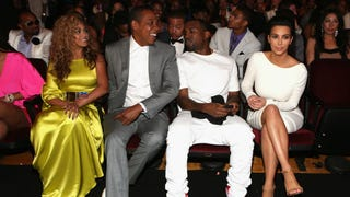 Kanye, Kim K, Beyoncé and Jay Z Had an 'Awkward' Double Date