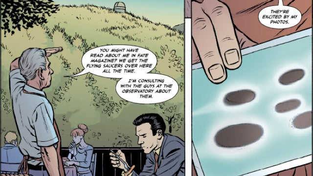 An exclusive preview of Strange Adventures, DC Comics' new scifi anthology