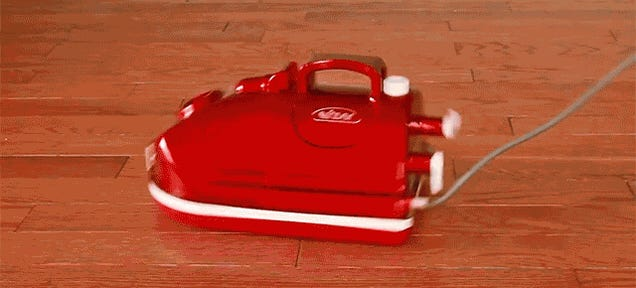 A Hovering Vacuum That Protects Your Floors And Looks Good Doing It