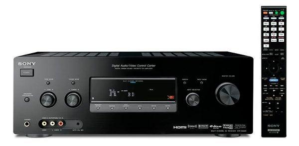 Sony STR-DG920 Receiver Handles 110 Watts Per Channel, 1080p and 24Hz