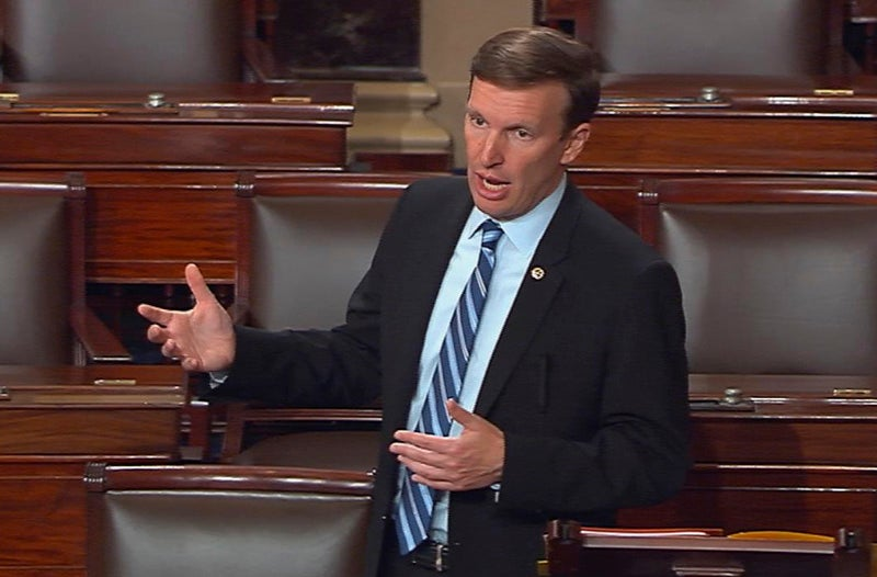 Senate Democrat's Gun Control Filibuster Rolls Into 14th Hour