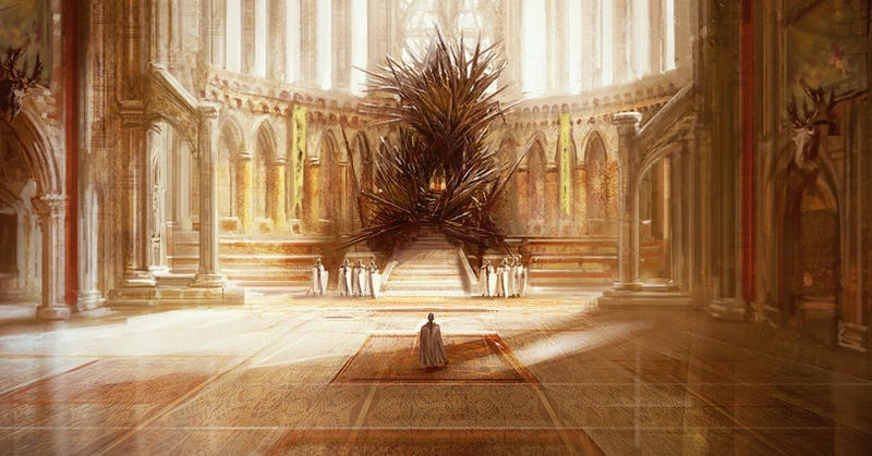 George R.R. Martin: This is what the Iron Throne REALLY looks like